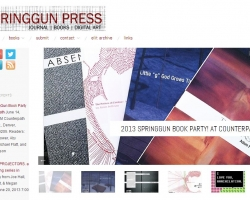 SpringGun Press NEW